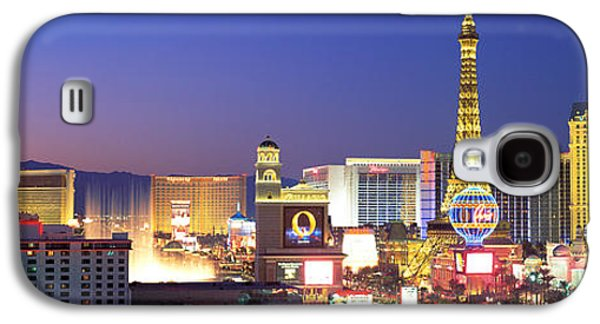 Dusk, The Strip, Las Vegas, Nevada, Usa Galaxy S4 Case by Panoramic Images