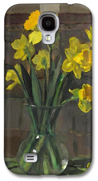 Dutch Master Narcissus In An Hourglass Vase Galaxy S4 Case