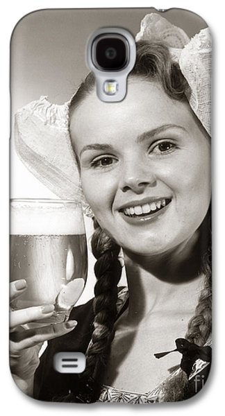 Dutch Woman With Beer, C.1950s Galaxy S4 Case