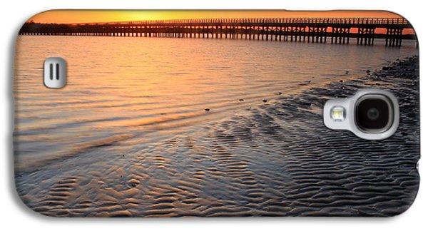 Duxbury Beach Powder Point Bridge Sunset Galaxy S4 Case