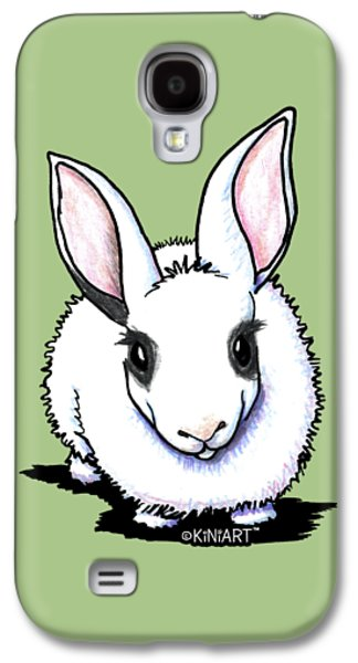 Dwarf Hotot Bunny Rabbit Galaxy S4 Case by Kim Niles