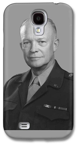 Dwight D. Eisenhower  Galaxy S4 Case by War Is Hell Store