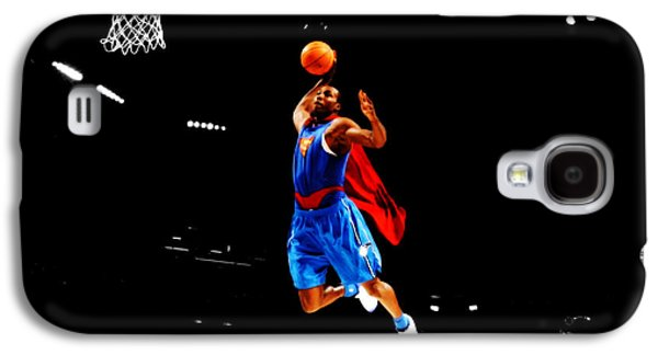 Dwight Howard Superman Dunk Galaxy S4 Case by Brian Reaves