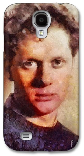 Dylan Thomas, Literary Legend Galaxy S4 Case by Sarah Kirk