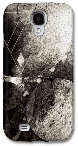 Dystopian Space Galaxy S4 Case by Susan Maxwell Schmidt