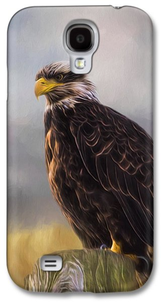 Eagle Art - Be Who You Are Galaxy S4 Case by Jordan Blackstone