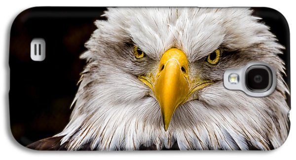 Defiant And Resolute - Bald Eagle Galaxy S4 Case