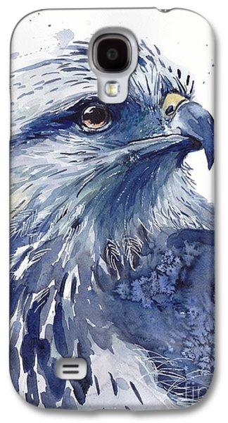Falcon Galaxy S4 Case - Eagle Watercolor by Suzann's Art