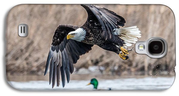 Eagle With Lunch Galaxy S4 Case by Paul Freidlund