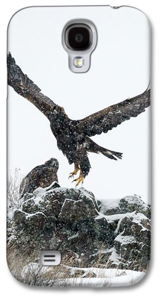 Eagles In The Storm Galaxy S4 Case by Mike Dawson
