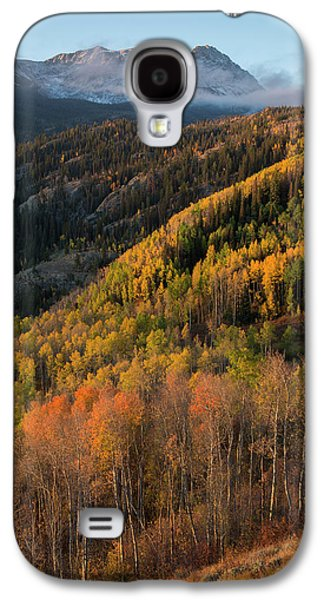 Galaxy S4 Case featuring the photograph Eagle's Nest Peak Vertical by Aaron Spong