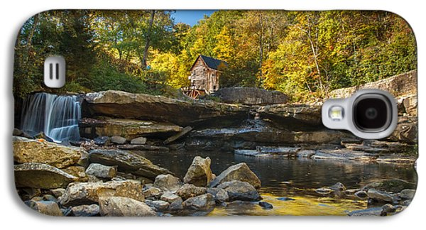 Early Autumn At Glade Creek Grist Mill 2 Galaxy S4 Case by Shane Holsclaw