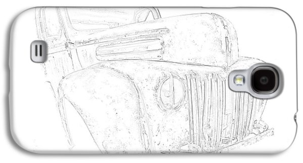 Early Ford Truck Galaxy S4 Case