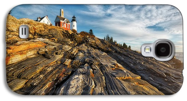 Early Morning At Pemaquid Point Galaxy S4 Case