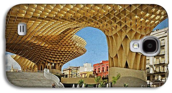 Early Morning At The Plaza Encarnacion - Seville Galaxy S4 Case