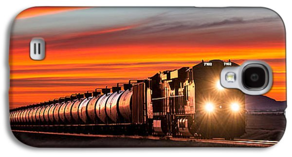 Train Galaxy S4 Case - Early Morning Haul by Todd Klassy
