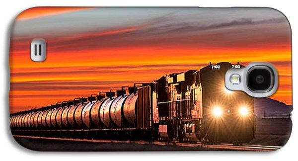 Train Galaxy S4 Case - Early Morning Haul by Todd Klassy