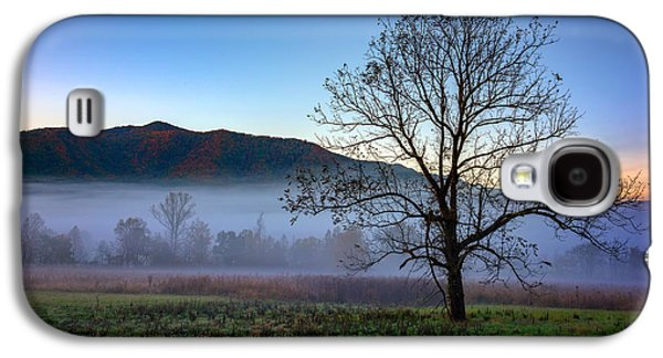Early Morning Mist In Cades Cove Galaxy S4 Case