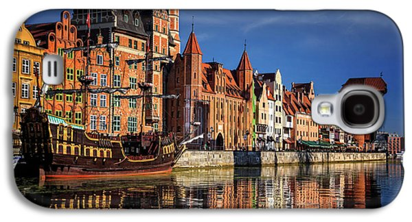 Early Morning On The Motlawa River In Gdansk Poland Galaxy S4 Case by Carol Japp