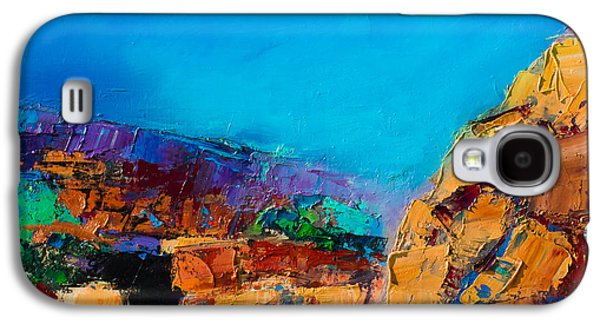 Early Morning Over The Canyon Galaxy S4 Case by Elise Palmigiani