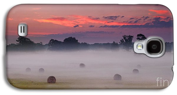 Early Morning Sunrise On The Natchez Trace Parkway In Mississippi Galaxy S4 Case by T Lowry Wilson