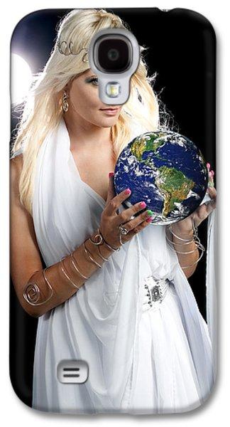 Earth Angel Galaxy S4 Case by Cindy Singleton