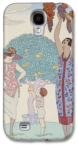 Earth Galaxy S4 Case by Georges Barbier