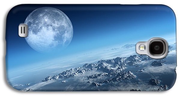 Earth Icy Ocean Aerial View Galaxy S4 Case by Johan Swanepoel