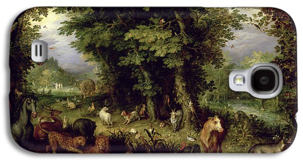 Earth Or The Earthly Paradise Galaxy S4 Case by Jan the Elder Brueghel