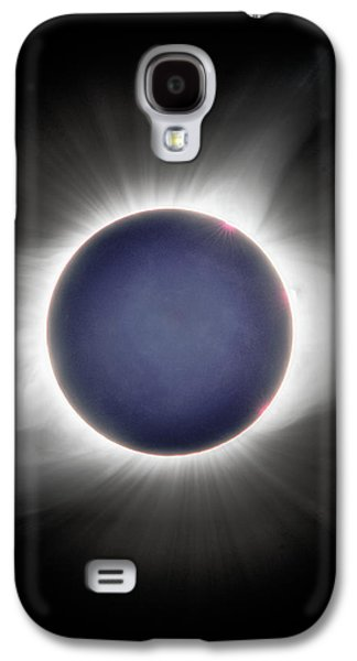 Earth-shine Galaxy S4 Case
