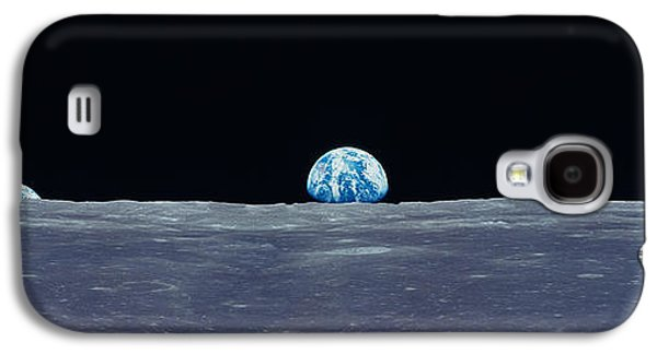 Earth Viewed From The Moon Galaxy S4 Case by Panoramic Images