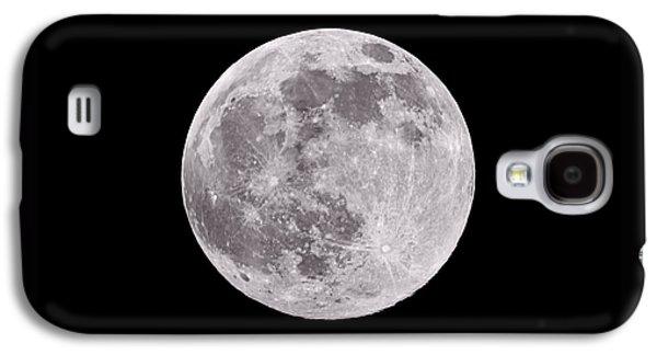 Earth's Moon Galaxy S4 Case