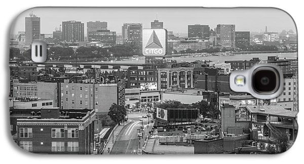 East Cambrdige Boston Skyline Aerial Citgo Sign Photo Galaxy S4 Case by Paul Velgos