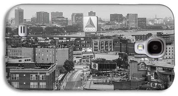 East Cambrdige Boston Skyline Aerial Citgo Sign Photo Galaxy S4 Case