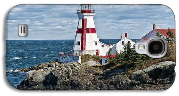Navigation Galaxy S4 Cases - East Quoddy Lighthouse Galaxy S4 Case by John Greim