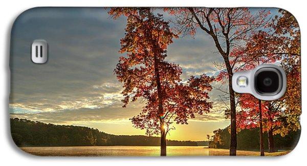 East Texas Autumn Sunrise At The Lake Galaxy S4 Case