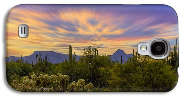 Easter Sunset H18 Galaxy S4 Case by Mark Myhaver