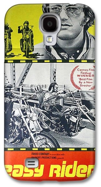Jack Nicholson Galaxy S4 Case - Easy Rider Movie Lobby Poster  1969 by Daniel Hagerman