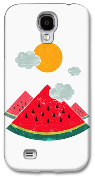 Eatventure Time Galaxy S4 Case by Mustafa Akgul