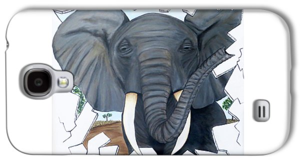 Eavesdropping Elephant Galaxy S4 Case