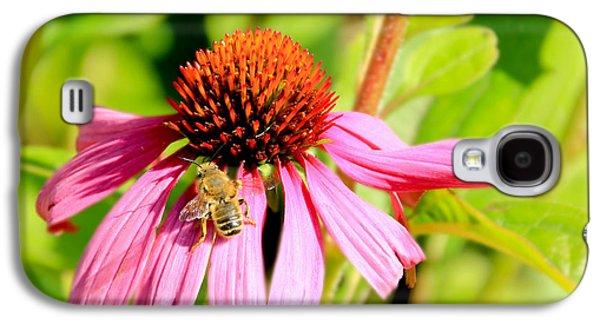 Echinacea Bee Galaxy S4 Case