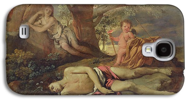 Echo And Narcissus  Galaxy S4 Case by Nicolas Poussin
