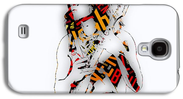 Eddie Van Halen Everybody Want's Some Lyrics Galaxy S4 Case