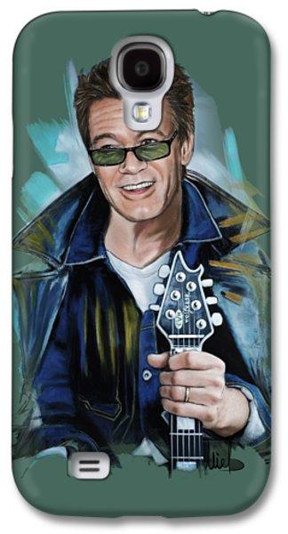 Eddie Van Halen Galaxy S4 Case by Melanie D