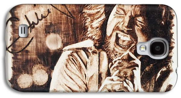 Eddie Vedder Galaxy S4 Case by Lance Gebhardt