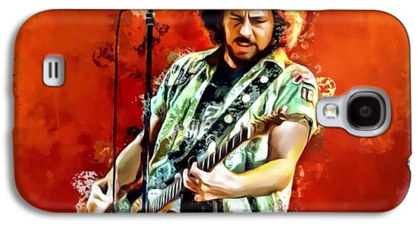 Pearl Jam Galaxy S4 Case - Eddie Vedder Of Pearl Jam by Scott Wallace