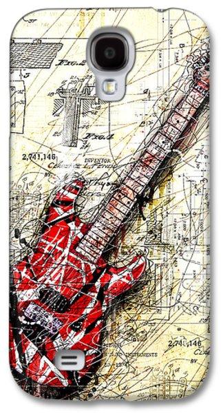 Guitar Galaxy S4 Case - Eddie's Guitar 3 by Gary Bodnar