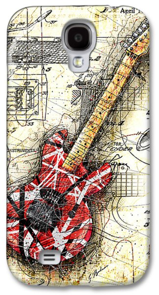 Eddie's Guitar II Galaxy S4 Case