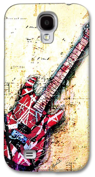 Eddie's Guitar Variation 07 Galaxy S4 Case by Gary Bodnar