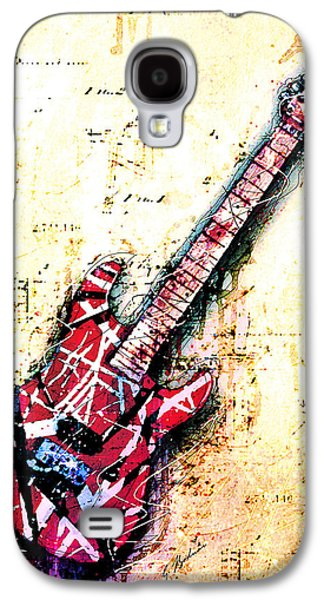 Van Halen Galaxy S4 Case - Eddie's Guitar Variation 07 by Gary Bodnar